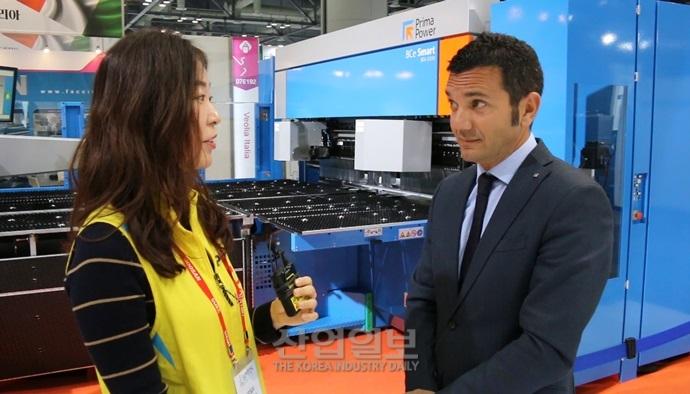 [심토스(SIMTOS)2018] 프리마 파워 코리아, 다양한 장비로 한국시장 적극 공략
