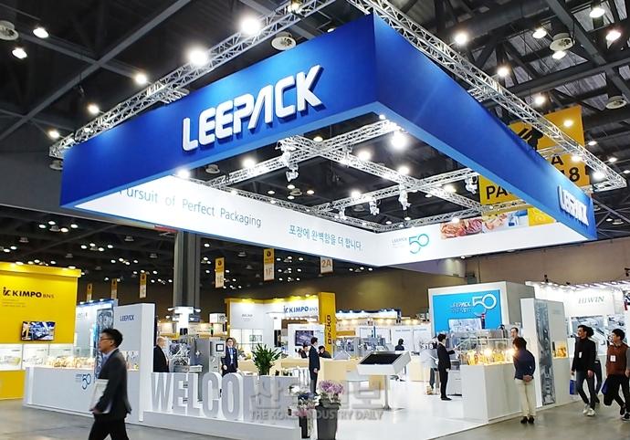 [KOREA PACK 2018] 리팩, HMR시장 겨냥한 로터리 자동포장기계 선보여