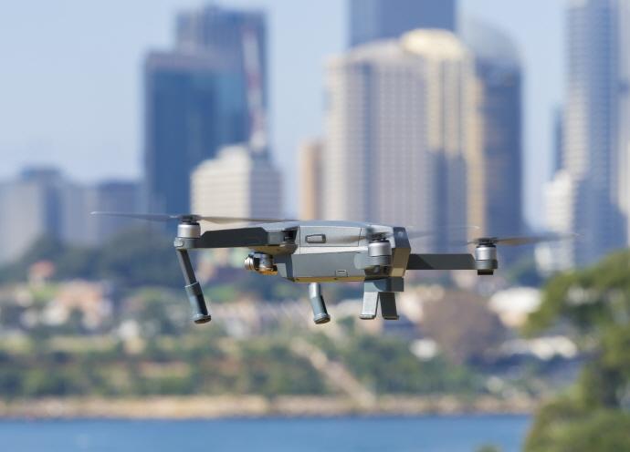 민간 드론 기업, 인공지능(AI) 기술 드론에 적용