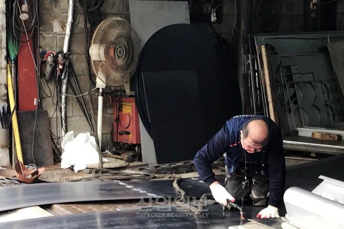 [사진으로 보는 산업뉴스] 문래동 철강거리를 지키는 철공소