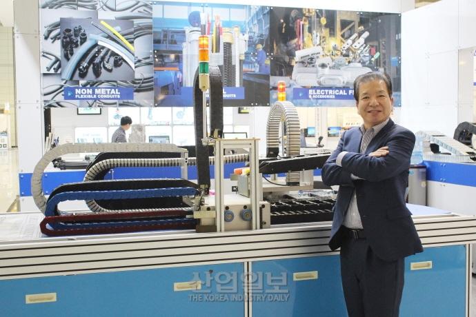 [창원 KOFAS 2018] 신성전기주식회사, '세계적인 기술력 보유'가 위기 대응책