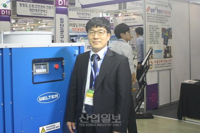 [창원 KOFAS 2018] (주)웰템, 산업용 공조기기 한우물 판 업계의 장인(匠人)기업