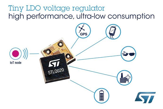 [신제품신기술]ST마이크로일렉트로닉스, 초소형 풋프린트로 고성능 구현하는 혁신적인 LDO 전압레귤레이터 STLQ020 - 다아라매거진 제품리뷰