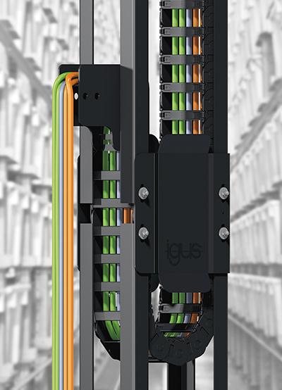 [신제품신기술]이구스(igus), 에너지체인을 안전하고 조용하게 가이드하는 가이드트러프(GLV) - 다아라매거진 제품리뷰