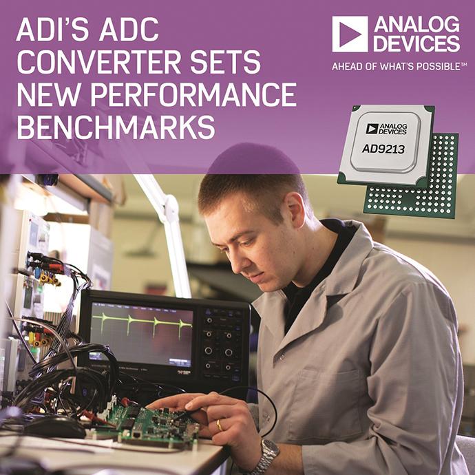 [신제품신기술]아나로그디바이스, 12bit 10.25Gsps성능의 RF ADC - 다아라매거진 제품리뷰