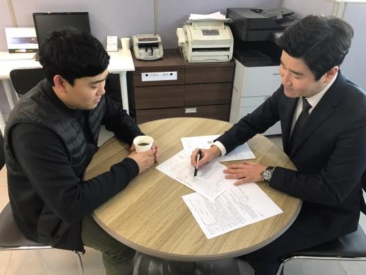 수원중고차매매단지 '카통령', 투명함으로 승부하다