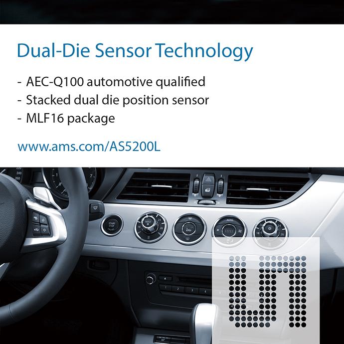 ams, 자동차변속기위치탐지센서 IC 출시 - 다아라매거진 제품리뷰