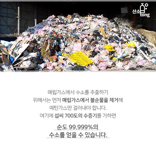 [카드뉴스] 쓰레기 가스로 달리는 '수소차'