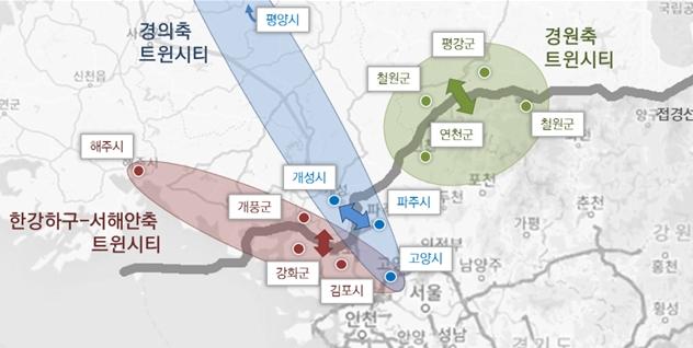 북한 접경지 남북 평화 분위기 타고 트윈시티 개발, 새로운 발전 기대