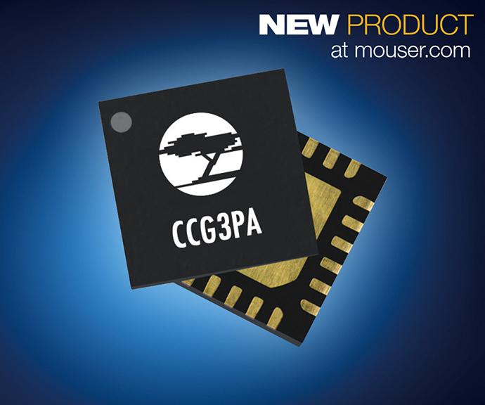 마우저, 사이프레스의 스마트폰 급속 충전용 CCG3PA 컨트롤러 - 다아라매거진 제품리뷰
