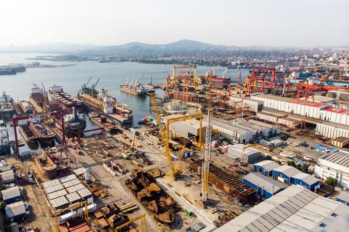 [Shipbuilding]미국발 무역분쟁, 현대중공업·삼성중공업·대우조선해양 등 조선 BIG 3에 큰 영향 없어 - 다아라매거진 업계동향