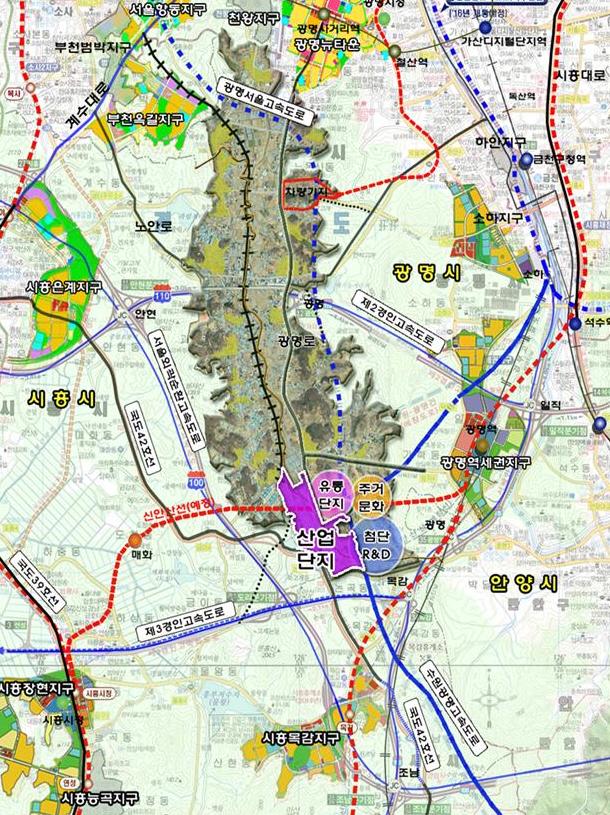 광명시흥 테크노밸리 일반산업단지 조성, 조건부 통과
