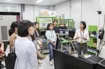 기계 산업 이끌 여성기계공학도, 미래 기술과 만나다