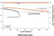 효율 2배 높아진 리튬금속-이온전지 개발