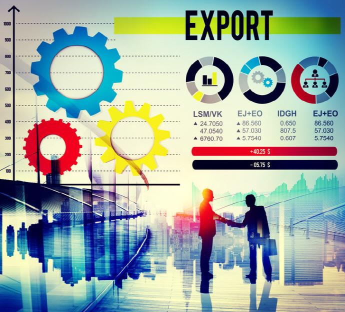 한국, 산업용 원자재·기계 부품 수출 강세
