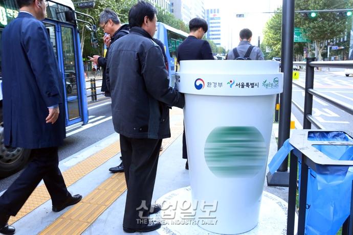 [사진으로 보는 산업뉴스] '일회용 컵 전용 수거함' 통해 플라스틱 재활용 늘린다