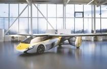 중국 수입박람회에 등장한 '날으는 자동차'