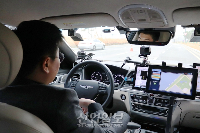 자율주행 기반 카셰어링 서비스, 스마트폰으로 부르고 목적지까지 운전자 없이 스스로 운행