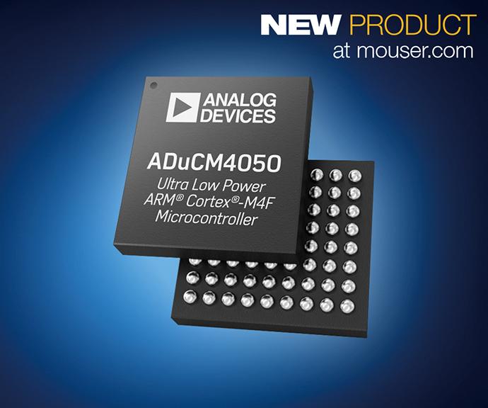 마우저, 아나로그디바이스의 ADuCM4050 마이크로컨트롤러 - 다아라매거진 신기술&신제품