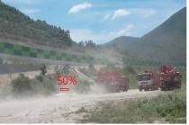 사업장에서 날리는 비산 먼지, 광학 기술 사용해...