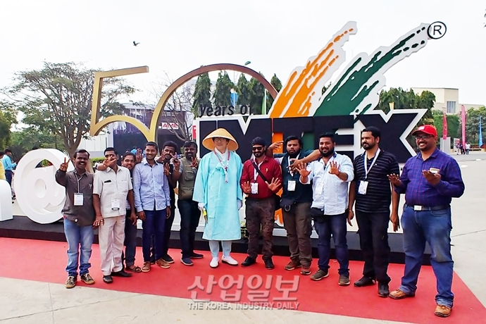 [IMTEX 2019] 삿갓쓰고 돌아본 인도전시회, 또 다른 세상이 열렸다