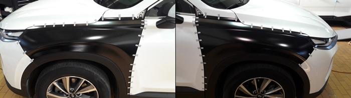 국산차 최초 현대 싼타페TM 휀더 인증 완료, 부품개발 돌입