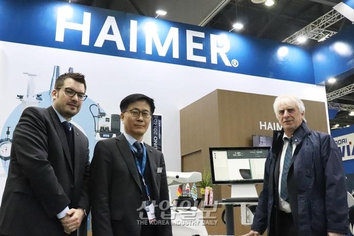 """[인터몰드 2019] HAIMER(하이머), """"항공·방산 등 고부가가치 산업 노려야"""""""