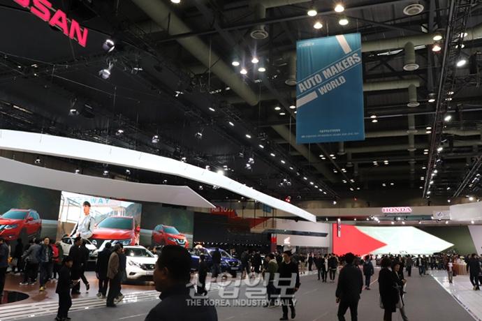 [포토뉴스] '2019 서울모터쇼', 4차 산업혁명 기술 입은 자동차 대거 등장