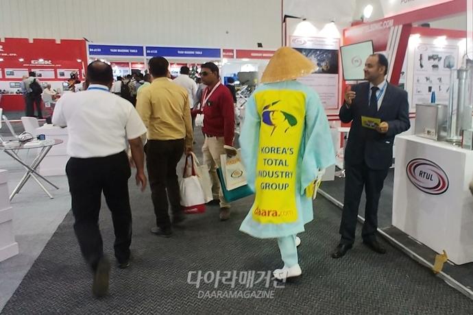 [IMTEX 2019]삿갓쓰고 돌아본 인도전시회, 또 다른 세상이 열렸다 - 다아라매거진 전시회뉴스