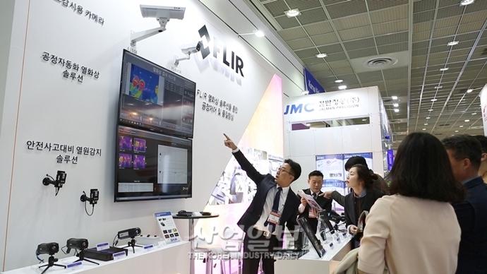 [스마트팩토리·오토메이션월드] 플리어시스템코리아, 보급형 열화상카메라로 사용범위 확대