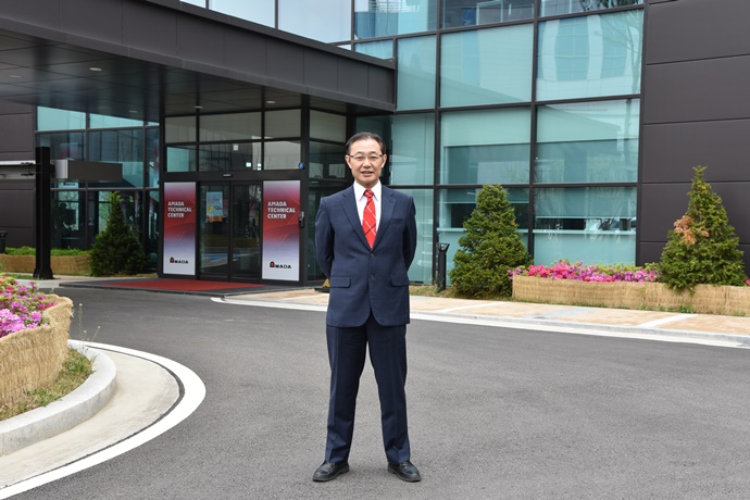[부텍(BUTECH) 2019] (주)아마다코리아, 4차 산업혁명 속 한국의 생산방식 변화에 발맞춘다