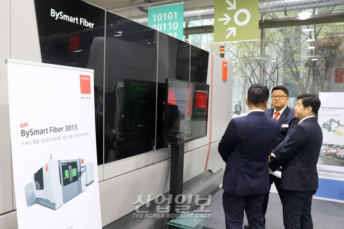 [부텍(BUTECH) 2019] 바이스트로닉코리아, 한국 시장 '최적화' 레이저 가공기 개발