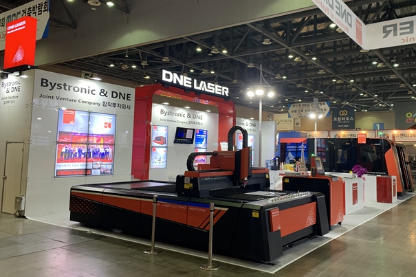 [부텍 (BUTECH) 2019] DNE Laser, 고출력 파이버 레이저 기술 공개