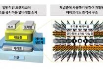 트랜지스터 작동 원리 바꾸니 멀티레벨 컴퓨터 구현 가능해져