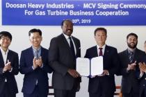 두산중공업, 미국 민간발전사 MCV와 가스터빈 사업 협력 MOU 체결
