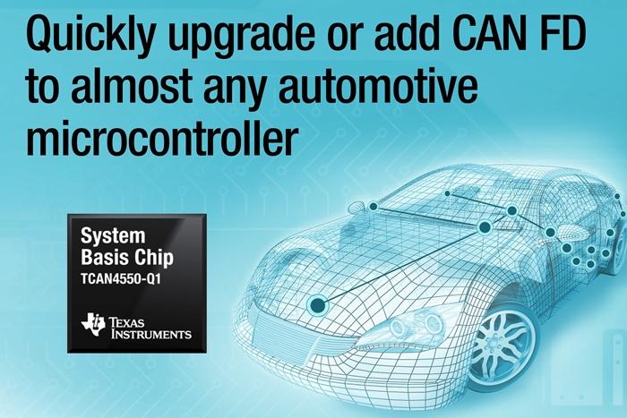 TI, CAN FD 컨트롤러와 트랜시버 통합 SBC 제품 출시 - 다아라매거진 제품리뷰