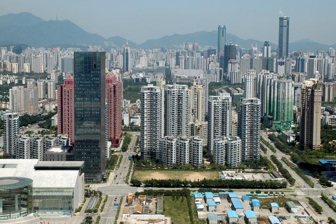 중국 도시화율 40년간 41.7% 증가…세계 평균 대비 급성장
