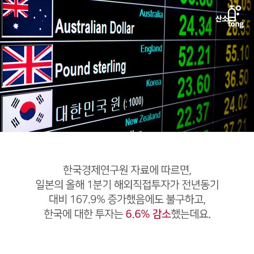 [카드뉴스] 한일간 정치·외교관계, 경제교류 악영향 미쳐
