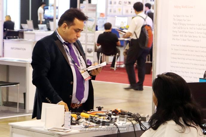 [포토뉴스][금속산업대전] 중국·인도·베트남, 전시회 참가 통해 한국시장 '공략'