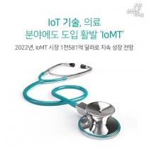 [카드뉴스] IoT 기술, 의료 분야에도 도입 활발 'IoMT'