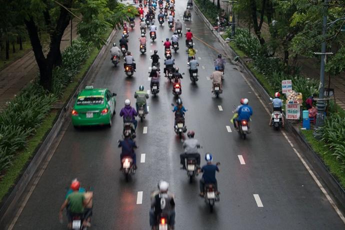 인도네시아·베트남, '이륜차 시장' 뜬다 - 다아라매거진 업계동향