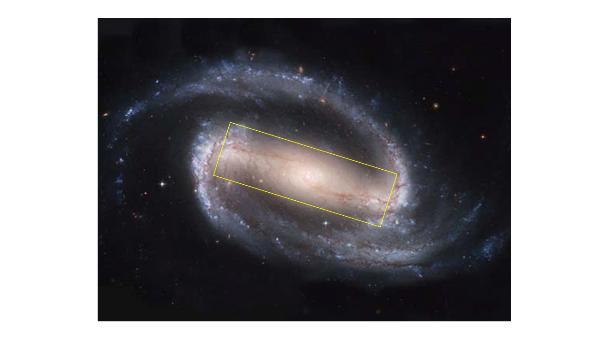 은하 모양, 은하단 충돌 시 막대구조따라 결정된다