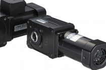 DKM모터, 공작기계 칩 컨베이어용 직교타입모터 헬리크로스 감속기 자체개발