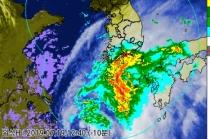 제5호 태풍 '다나스', 20일 오전 전남해안 상륙