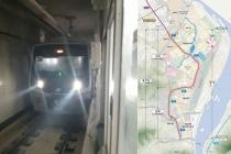 지하철 5호선 연장 하남선(상일~검단산) 1단계 완료, 시험운행