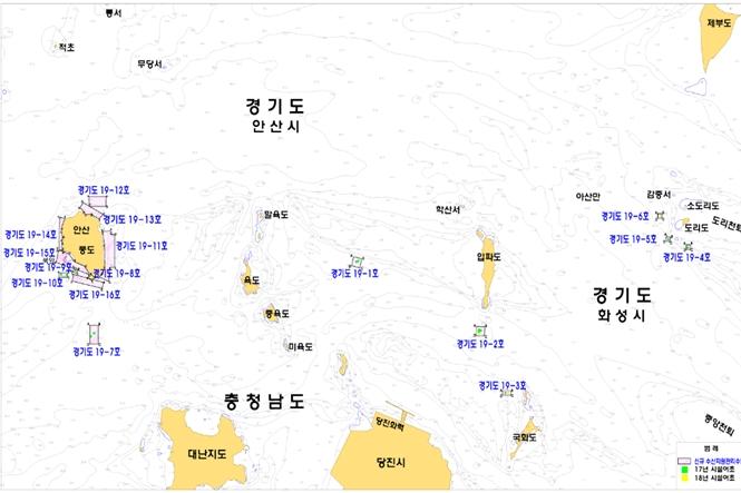 안산 풍도해역 등 16곳 '수산자원관리수면'으로 고시