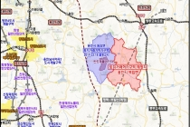 용인 반도체 특화 클러스터 인접한 백암면, 토지거래허가구역 지정
