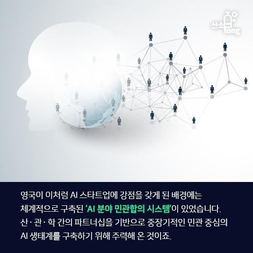 [카드뉴스] 세계 2위 AI 국가 '영국', 경쟁력은 어디에서 왔을까?