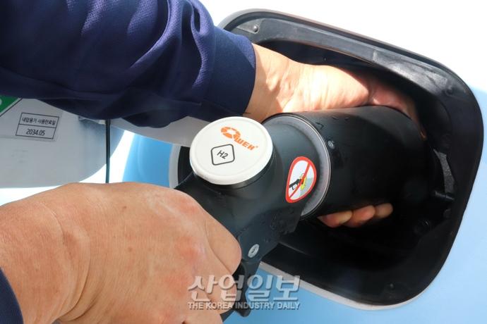 [포토뉴스] 국회 수소충전소, 수소전기차 보급 확대 기여 '기대'