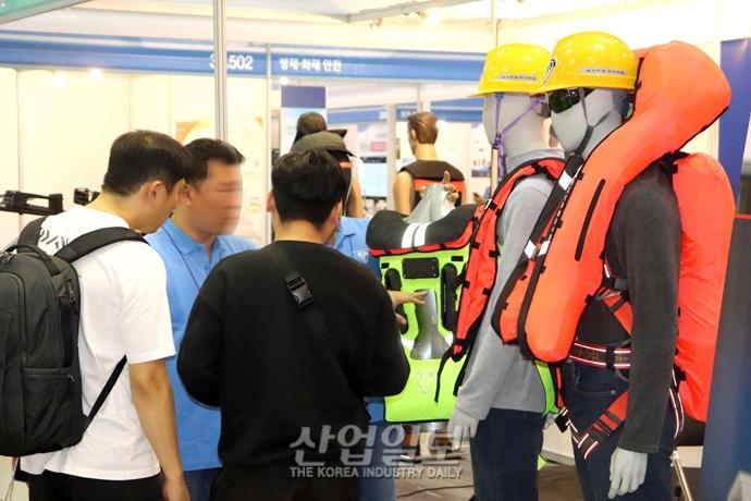 [포토뉴스] 화재·건설·방재 등 최신 안전산업 제품 '총망라'